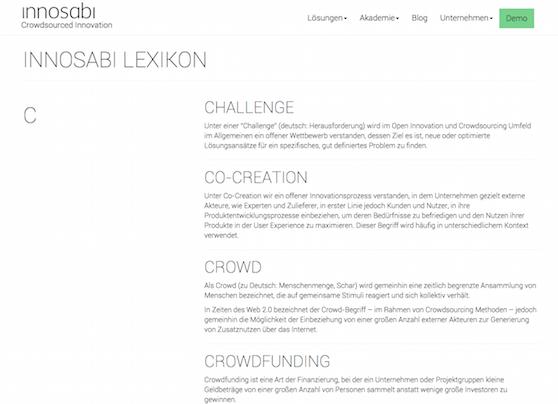 innosabi_Lexikon_CrowdsourcedInnovation_Grundbegriffe_Blog