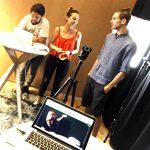 David, Julia, Leo im innovators studio