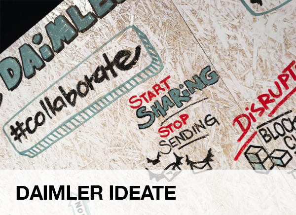 "BEST PRACTICE – IDEATION, FUNDING UND ACCELERATION: ""DAIMLER IDEATE"""