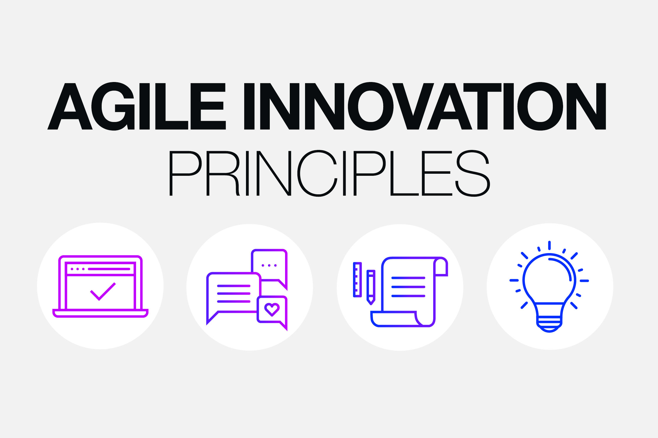 four principles of agile innovation