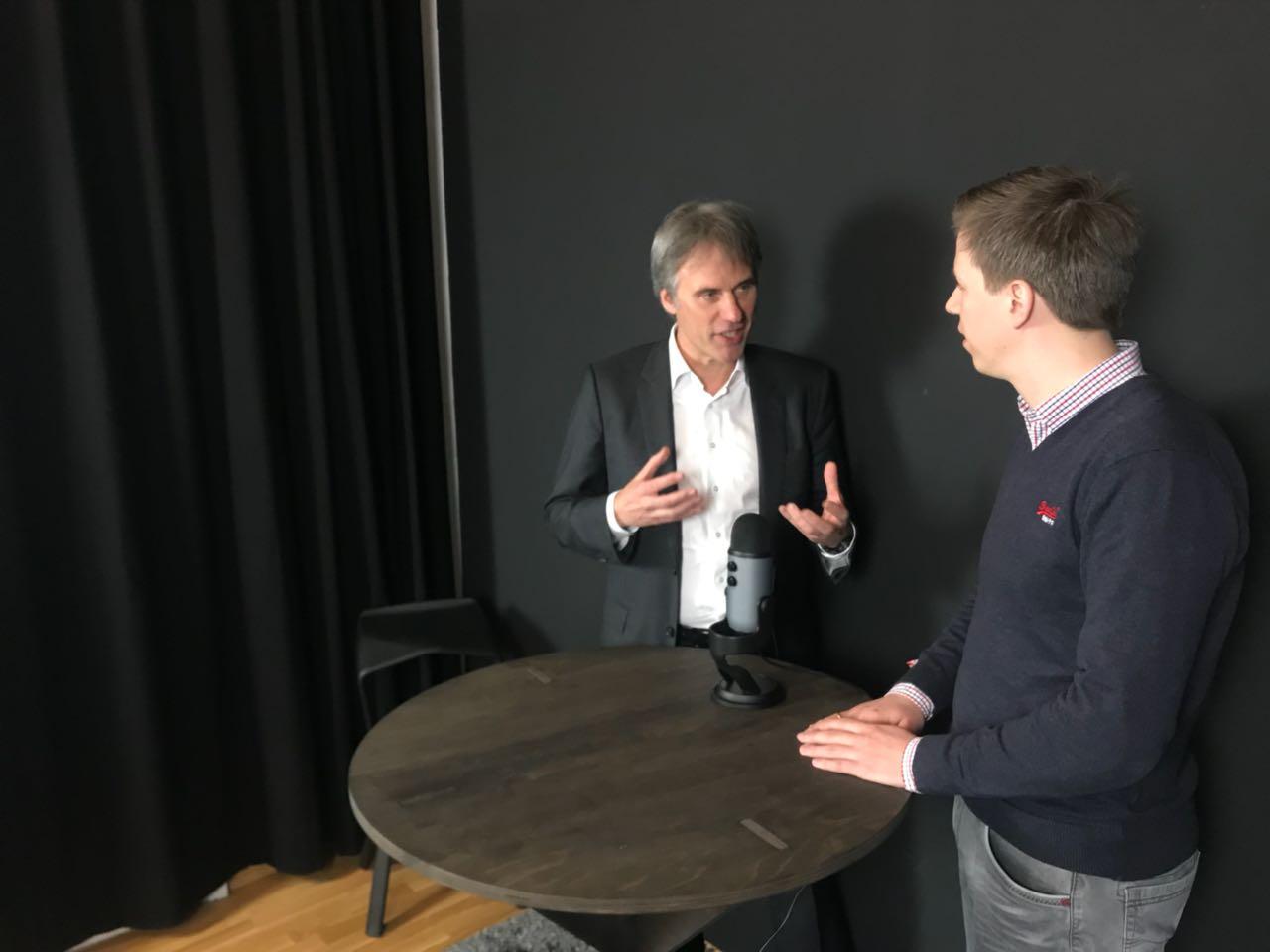Achim Berg (Bitkom) und Jan Fischer (innosabi)