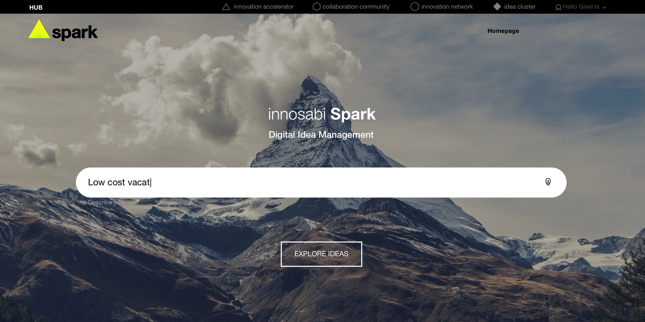 innosabi Software - Spark - Employee Ideas