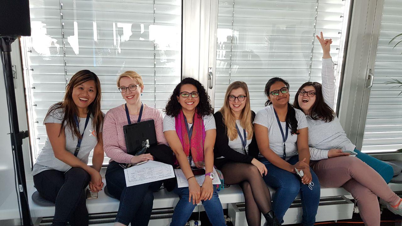 Team Ryca beim TexxFactor Hackathon der Deutschen Bank und Finleap